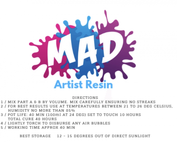 Details for MAD Resin