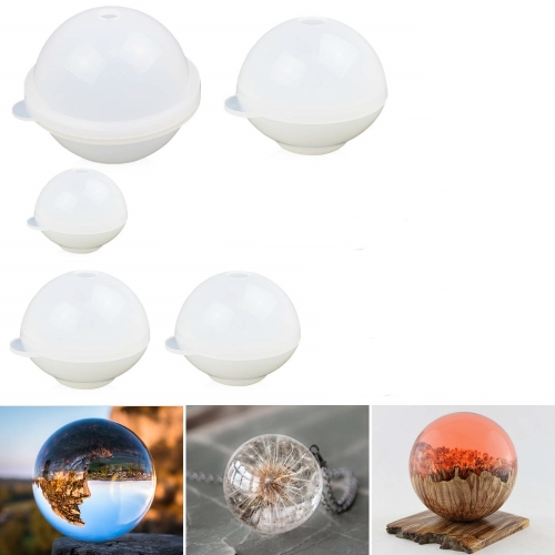 Sphere Resin Mold 5PCS