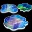 Irregular Coaster Resin Molds