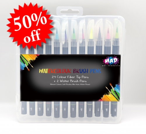 MAD Watercolour Brush Pens