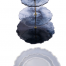 Three-Layer Lace Round Tray Mold