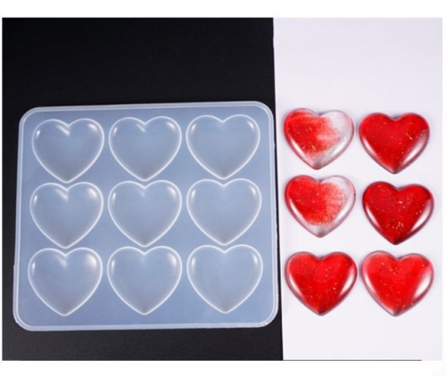 MAD Heart Resin Casting Molds