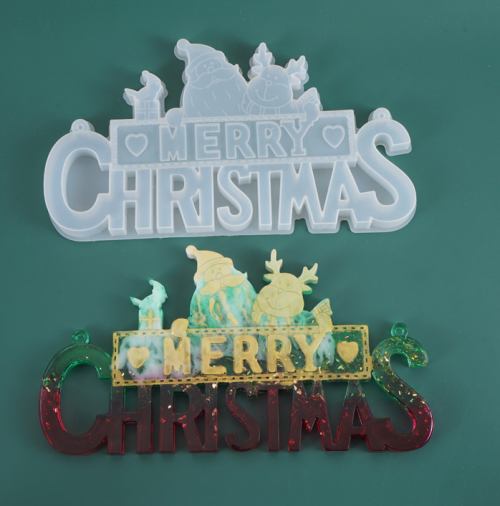 MAD Merry Christmas Sign Mold