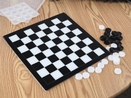 ChessCheckers Board Mold