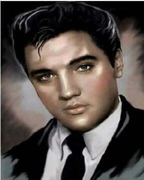 Elvis Presley Diamond Dot Picture